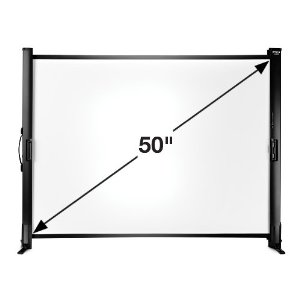 Ultraportable Tabletop Screen